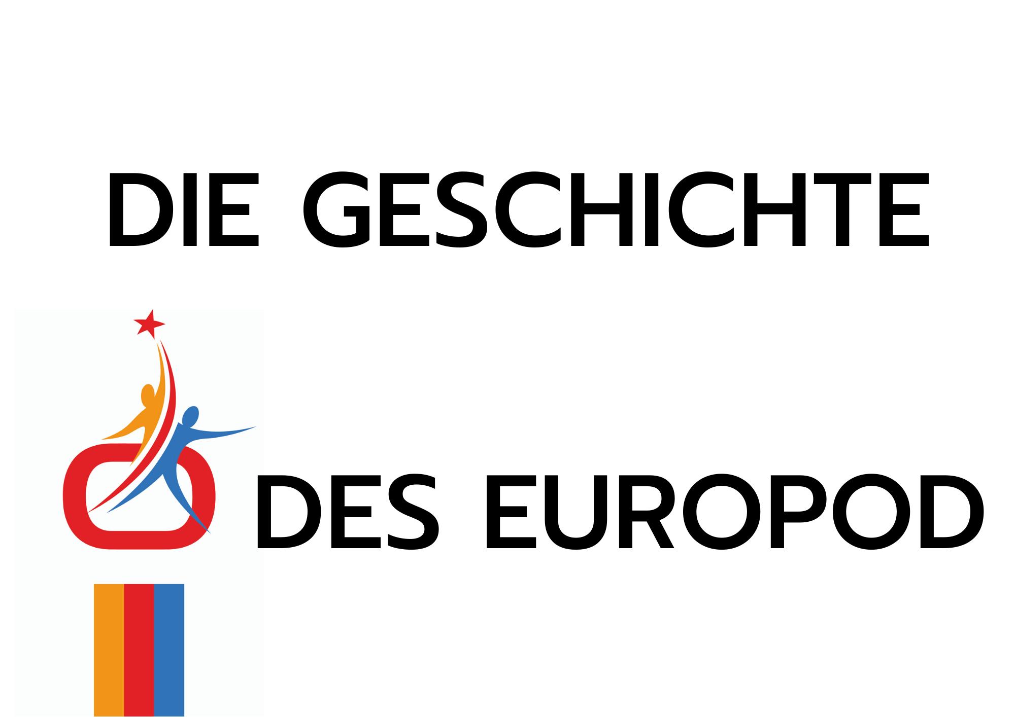 Site web Europod Histoire en allemand